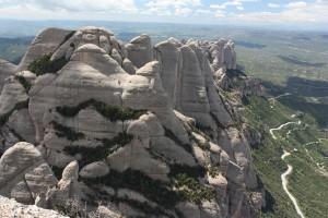 Montserrat - pohoří