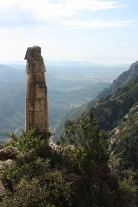 Montserrat - poustevník