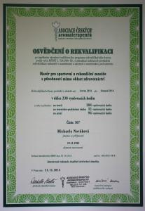 Rekvalifikace-masaze