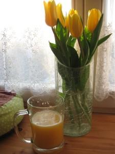 Čerstvá šťáva sweety grep a pomeranč